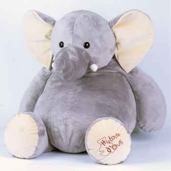 Peluche Eléphant super Géant -ho1286