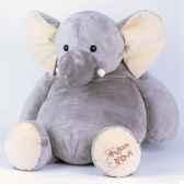peluche elephant geant ho1285