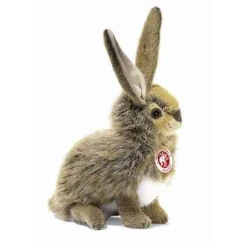 Peluche Steiff Lapin Mummel assis brun -st078415