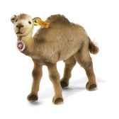 peluche steiff chameau hucky mohair debout beige st040641