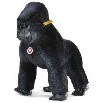 Peluche Steiff Gorille Gora mohair debout noir -st062261