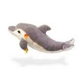 peluche steiff dauphin cappy gris et blanc st063145