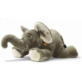 Peluche Steiff Eléphant couché gris -st064050