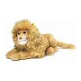 peluche steiff lion couche blond st064173
