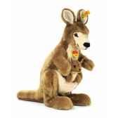 peluche steiff kangourou et son bebe st064227