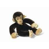 peluche steiff chimpanze brun fonce st064401