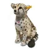 peluche steiff guepard bora mohair assis st065941