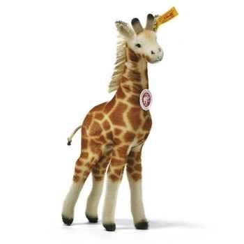 Peluche Steiff Girafe Gori mohair debout -st068065