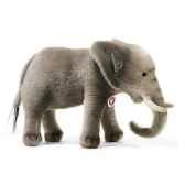 peluche steiff elephant mohair gris st085161