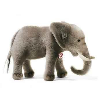 Peluche Steiff Eléphant mohair gris -st085161