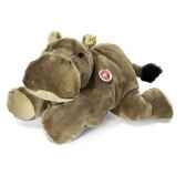 peluche steiff hippopotame mocky couche brun st085383