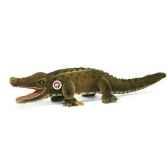 peluche steiff gaty crocodile mohair vert st095443