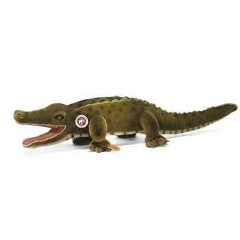 Peluche Steiff Gaty crocodile mohair vert -st095443