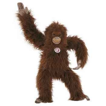 Peluche Steiff Orang Outang studio brun et roux-501708