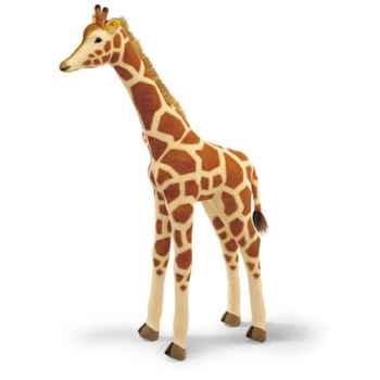 Peluche Steiff Girafe studio mohair debout-502187