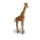 peluche steiff girafe studio mohair debout 502200