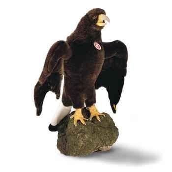 Peluche Steiff Grand aigle studio brun foncé-505218