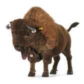 peluche steiff bison studio 524677
