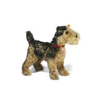 Peluche Steiff Chien Terrier 1935 mohair Fellow debout -st035012