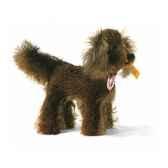 peluche steiff chien setter irlandais mohair debout brun st035913