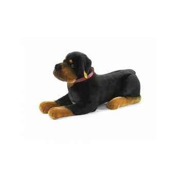 Peluche Steiff Chien Rottweiler couché -st079122