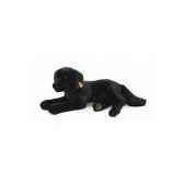 peluche steiff chien labrador couche noir st079146