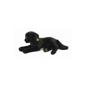 Peluche Steiff Chien Labrador couché noir -st079146