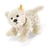 peluche steiff chien terrier west highland treff mohair st079573