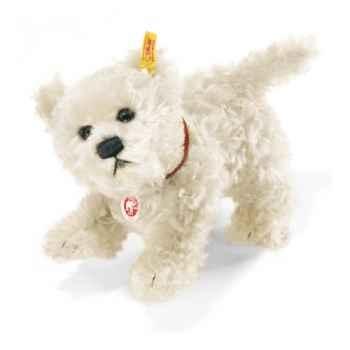 Peluche Steiff Chien Terrier West Highland Treff mohair -st079573
