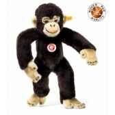 peluche steiff chimpanze jocko brun fonce st060731