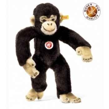 Peluche Steiff Chimpanzé Jocko brun foncé -st060731