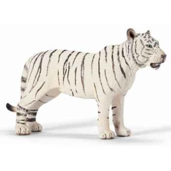 schleich-14383-Tigresse blanc