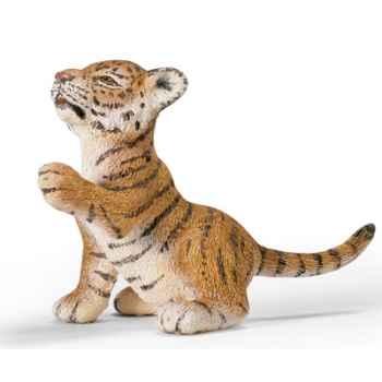 schleich-14372-Bébé Tigre du Bengale, jouant
