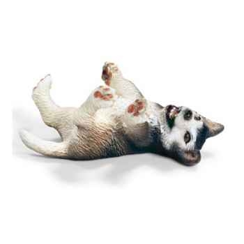 schleich-16374-Chiot husky, couché