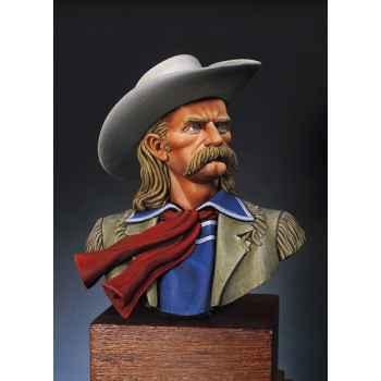 Figurine - Kit à peindre Buste  L. C. George A. Custer en 1873 - S9-B01