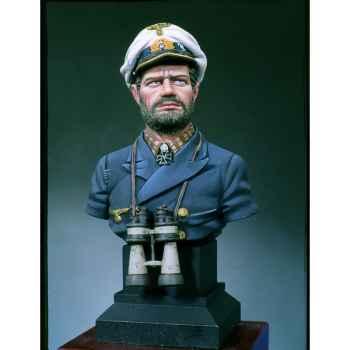 Figurine - Kit à peindre Buste  Capitaine de U-Boat - S9-B14