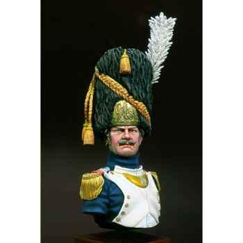 Figurine - Kit à peindre Buste  Grenadier de la garde impériale  major - S9-B15