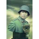 figurine kit a peindre buste stormtrooper soldat allemand en 1916 s9 b19
