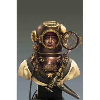 Figurine - Kit à peindre Buste  Plongeur de l'armée nord-américaine en 1941 - S9-B20