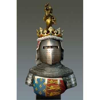 Figurine - Kit à peindre Buste  The Black Prince en 1330-1376 - S9-B21