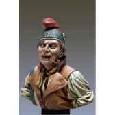 figurine kit a peindre buste le sans culotte en 1793 s9 b23