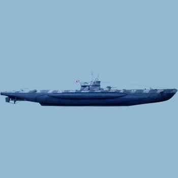 Figurine - Kit à peindre U-Boat VII C (coque complète) - LP-02