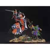 figurine kit a peindre ensemble le prince noir a crecy en 1346 sm s01