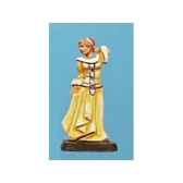 figurine kit a peindre demoiselle ca 008