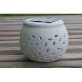 lanterne a energie solaire en ceramique pour decoration jiawei 1809 tm 1218p