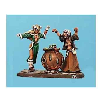 Figurine - Kit à peindre Sabbat de sorcières - CA-022