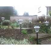 decoration lumineuse multicolore defilante a energie solaire lot de 6 lanternes jiawei 1013