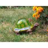 decoration de jardin lumineuse a energie solaire tortue jiawei g0300117aa