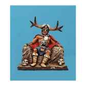 figurine kit a peindre chef barbare ca 025