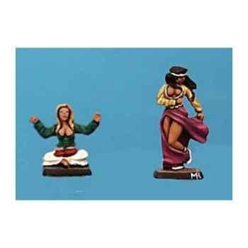 Figurine - Kit à peindre Danseuses - CA-026